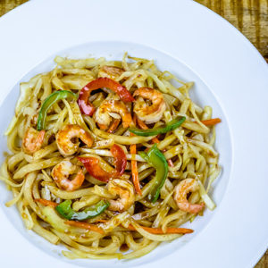 Shrimp Teriyaki Noodle